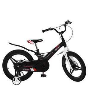 Детский велосипед PROF1 18д LMG18235 Hunter черный