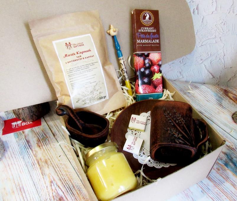 """Подарок мужчине - набор-комплимент """"Чайный"""" от Ukrainian Gift Box"""