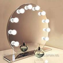 Косметическое настольное LED lamp mirror / Зеркало с подсветкой для макияжа JX-526