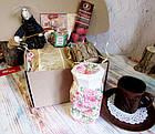"""Подарок женщине - набор - комплимент """"Чай и Роза"""", фото 2"""