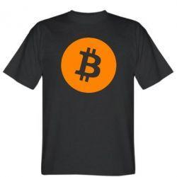 Купить Трендовая футболка Bitcoin