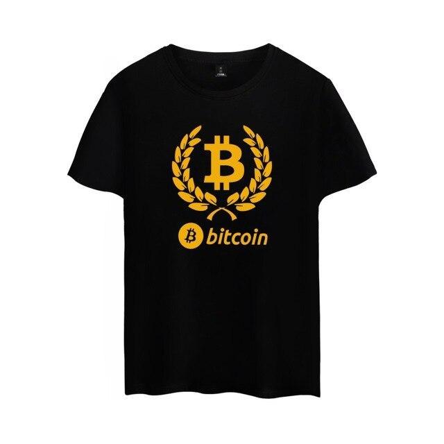 Купить Красивая футболка Bitcoin