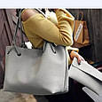 Женская сумка LADY BAG 4 в 1/ чёрный 💃🌺💄🛍👌, фото 4