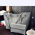 Женская сумка LADY BAG 4 в 1/ чёрный 💃🌺💄🛍👌, фото 3