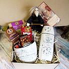 """Вкусный подарок для женщины - подарочный набор """"Сладости в белом"""", фото 2"""