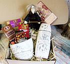 """Вкусный подарок для женщины - подарочный набор """"Сладости в белом"""", фото 3"""