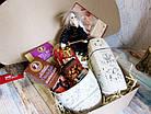 """Вкусный подарок для женщины - подарочный набор """"Сладости в белом"""", фото 5"""