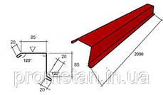 Ветровая планка металлическая для кровли, кровельные аксессуары, гнутые изделия, фото 3