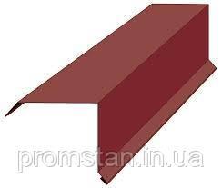 Ветровая планка металлическая для кровли, кровельные аксессуары, гнутые изделия, фото 2