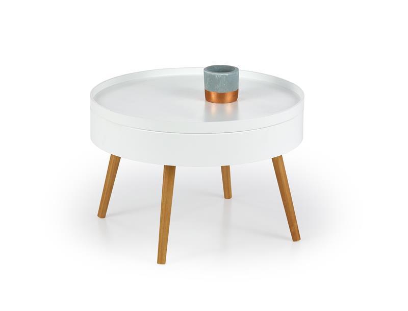 Журнальний стіл STARLET білий (60х40) Halmar