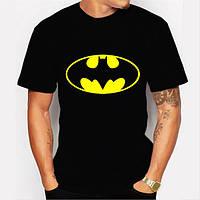 Молодежная футболка  с рисунком Бетман