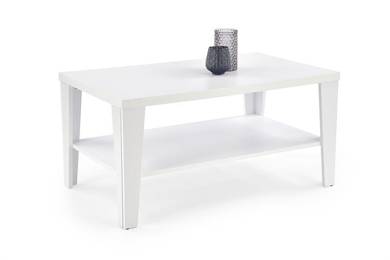 Журнальный стол MANTA  белый (110х65х54) Halmar