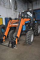 Погрузчик КУН на МТЗ 892 тракторный фронтальный быстросъёмный НТ-1500 АГРИС с ковшом 0,8