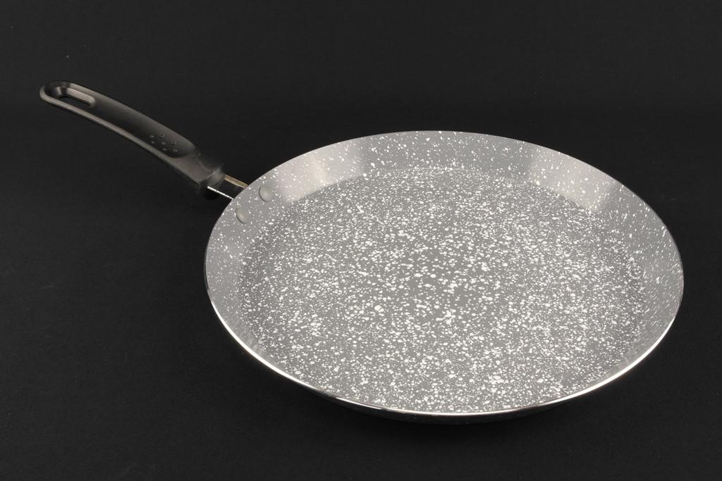 Сковорода блинная А-Плюс  24 см с мраморным покрытием 1511