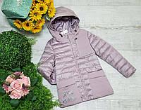 Куртка для девочки осень  весна код 2062 размеры на рост от 128 до 152 возраст от 6 лет и старше