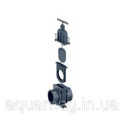 Задвижка для труб ПВХ VDL, 63 мм, фото 2