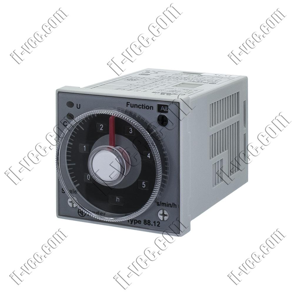 Реле часу Finder 88.12.0.230.0002, 24-230V DC/AC, 5A/250VAC