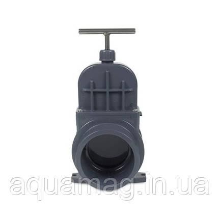 Задвижка для труб ПВХ VDL, 75 мм, фото 2