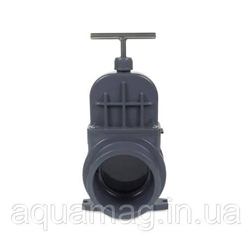 Задвижка для труб ПВХ VDL, 75 мм