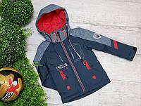 Куртка код 8206 A  размеры на рост от 92 до 122 возраст от 3 лет и старше, фото 1