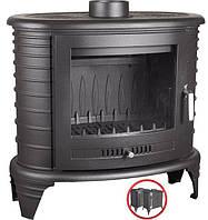 Печь отопительная Koza K8 + ASDP 9 кВт