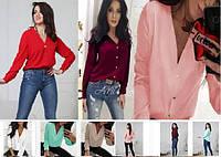 Блузка рубашка  женская стильная  42-48, фото 1