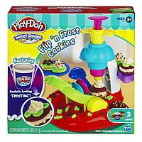 Пластилин Плей до Фабрика печенья A0320 Play-Doh Sweet Shoppe Flip 'N Frost Cookies