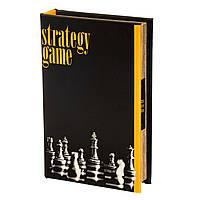 Книга-сейф шахматы кодовый замок