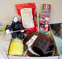 """Вкусный подарок для женщины - подарочный набор """"Чайный медовый"""""""