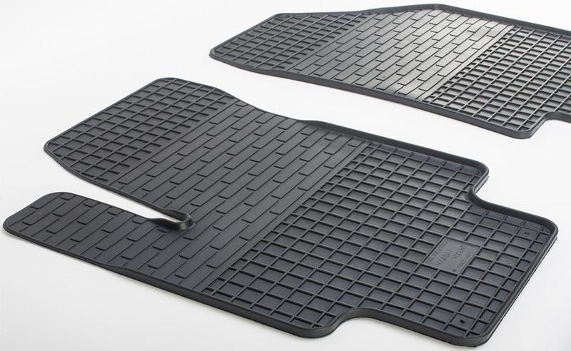Ковры рез. Audi A6 97- (design 2016) 2шт. STINGRAY