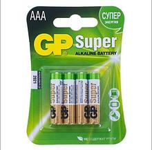 Батарейки GP 24A - U4 Alkaine LR03, AAA блістер 4шт)