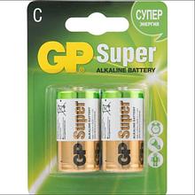 Батарейки GP 14A - U2 Alkaine LR14, C, (блістер 2шт)