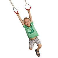Кольца металические на веревках для детских площадок, акробатические, фото 1