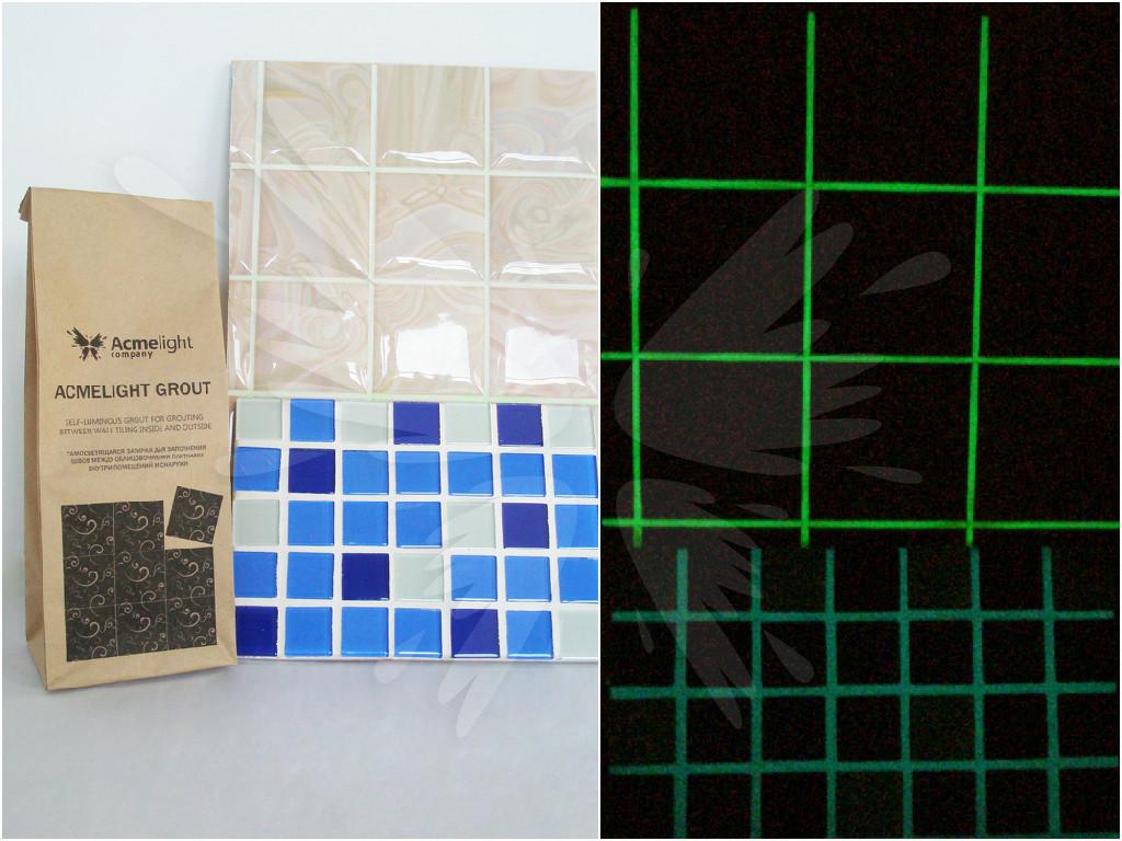 AcmeLight Grout - светящаяся декоративная затирка для заполнения швов