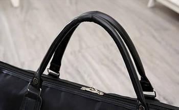 Дорожная сумка на колесах с ручкой черная (1119931257), фото 3