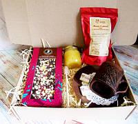 """Подарок для мужчины - набор """"Чайный с шоколадом""""  Ukrainian Gift Box"""