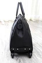 Дорожная сумка на колесах с ручкой черная BR-S (1119931257), фото 3