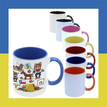 Печать на двухцветных чашках, фото 2