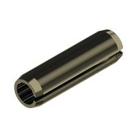 Штифт пружинный 2х10 мм цилиндрический трубчатый разрезной без покрытие DIN 1481 (аналог ISO 8752)