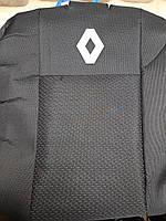 Чехлы на Рено Логан 2013- (раздельный) / авто чехлы Renault Logan 2013- (эконом)