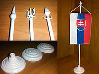 Пластиковые подставки для флажков и вымпелов.