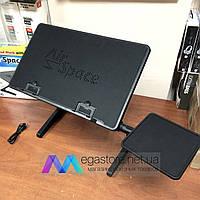 Подставка для ноутбука регулируемая с кулером охлаждения AirSpace столик с подставкой под мышку черный