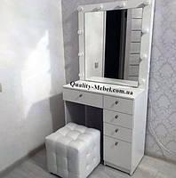 Стол с гримерным зеркалом