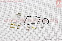 Ремонтный к-кт карбюратора , 14 деталей + поплавок