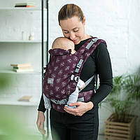 """Эрго рюкзак для новорожденных ONE Love & Carry """"Майами"""" """"Стоун"""" """"Бискай"""" """"Сангрия"""" Рюкзак для переноски детей"""