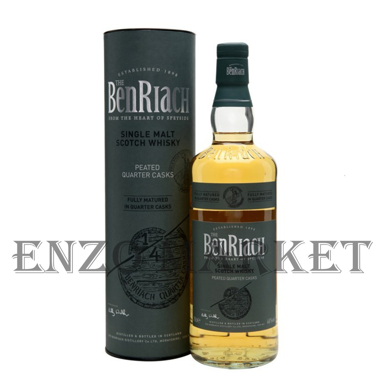 Виски Benriach Peated Quarter Cask (Бенриах Питед Квотер Каск) 46%, 0,7 литра