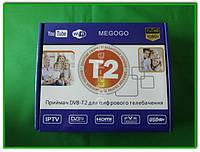 Цифровой ресивер/Тюнер Т2 MEGOGO Т2-168 (DVB-T2, YouTube + HD плеер с HDMI)