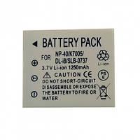 Аккумулятор Alitek для Rekam NP-40, 1250 mAh.