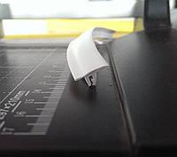 "Вставка заглушка для натяжного потолка №3 ""TL"" белая (ширина 14 мм, белая, 2 зуба) V4"
