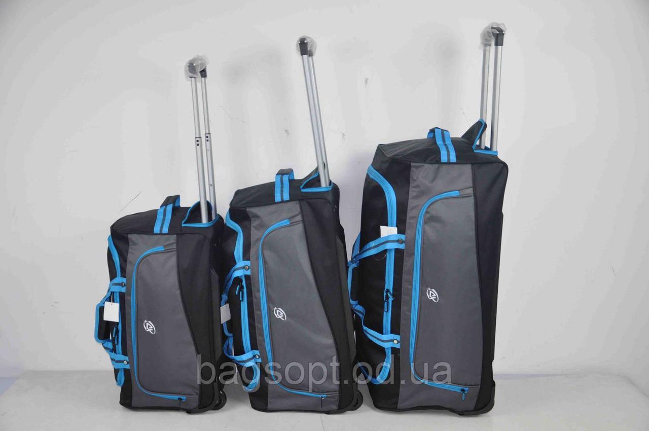 Набор дорожных сумок на колесах для путешествия